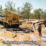 Installing the Drilling Rig