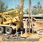 Rehabilitation in progress